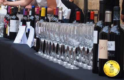 Tecnovino vinos de Rioja Alavesa Abra premios 1