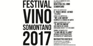 Magia, música, teatro y, sobre todo, gastronomía y vino, en el Festival Somontano 2017
