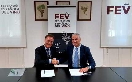 Tecnovino convenio FEV Alimentaria salon Intervin 1