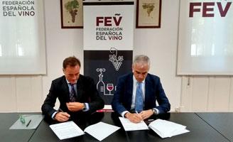 Tecnovino convenio FEV Alimentaria salon Intervin 328x200