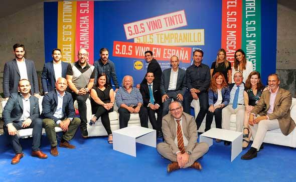 Tecnovino democratizacion de los vinos jornada SOS Vino en Espana