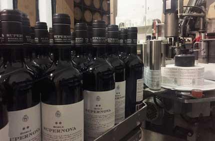 Tecnovino hurto de botellas de vino Bodegas Briego Checkpoint