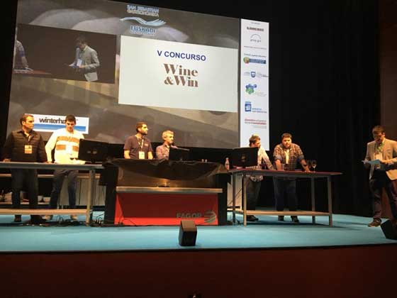 Tecnovino San Sebastian Gastronomika 2017 Wine and Win