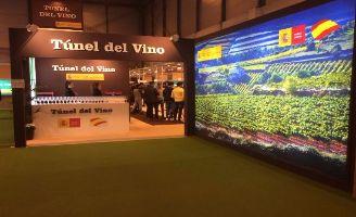 Tecnovino Tunel del Vino Salon de Gourmets vista