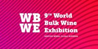 El vino a granel tiene una cita en la feria World Bulk Wine Exhibition 2017