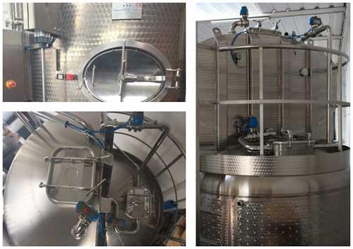 Tecnovino vinificador Nectar Trecieffe Representaciones Beltran 3