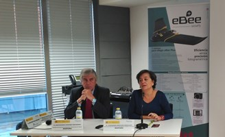 Esperanza Orellana en la jornada sobre drones