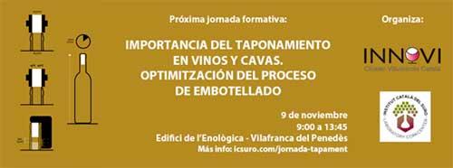 Tecnovino eventos vitivinicolas Jornada taponamiento vinos y cavas