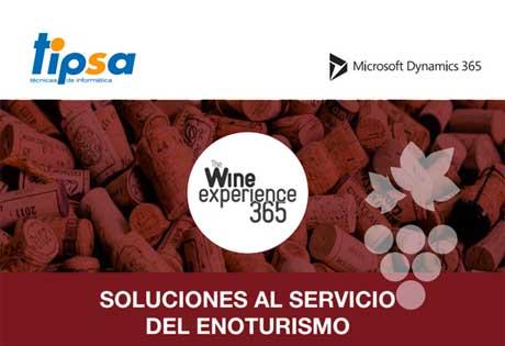 Tecnovino gestion enoturistica The Wine Experience 365 Tipsa 1