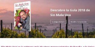 Ya está aquí Sin Mala Uva, la Guía de vinos monovarietales 2018