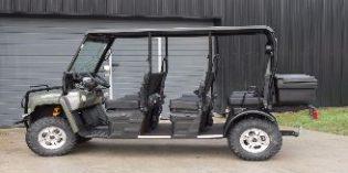 Gramona incorpora un vehículo eléctrico para sus visitas enoturísticas