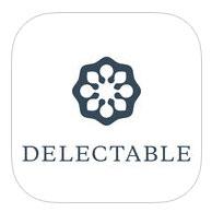 Tecnovino apps sobre vino Delectable Wine logo