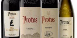 Protos lidera la venta por marcas de vino en España en el último trimestre, según Wine Intelligence