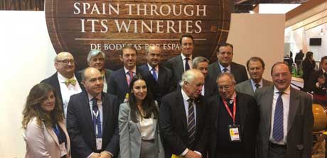 Tecnovino Spain through its wineries enoturismo Fitur