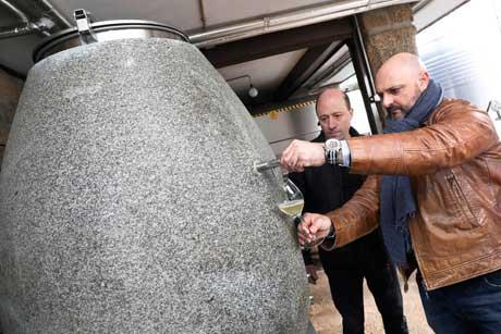 Tecnovino barricas para vino de granito 5