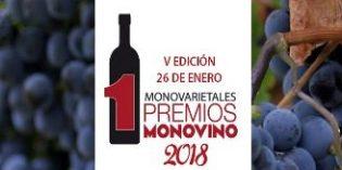 Abierto el plazo de inscripción para concursar en los V Premios MonoVino