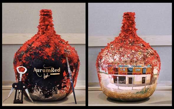 Tecnovino vino mas caro del mundo Aurum Red 2
