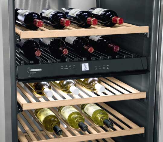 Tecnovino vinotecas de Liebherr Frigicoll 1