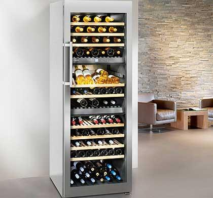 Tecnovino vinotecas de Liebherr Frigicoll 2