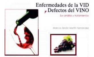 Tecnovino Enfermedades de la vid y defectos del vino libro detalle portada