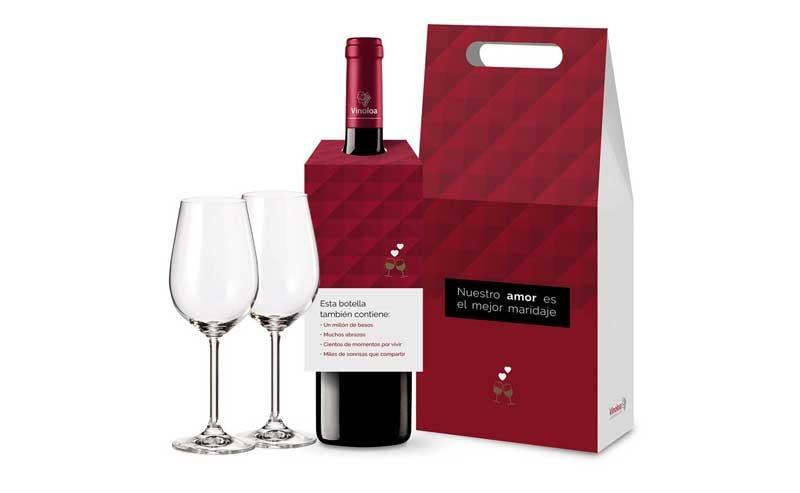 Tecnovino pack especial de vinos Corporacion Vinoloa