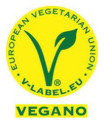 Tecnovino sello apto para veganos UE