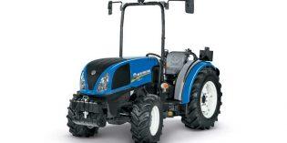 T3F, la renovada serie de tractores para viñedos en hilera de New Holland