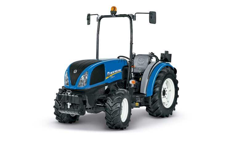 Tecnovino tractores para vinedos en hilera T3F New Holland 1