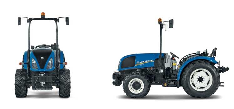 Tecnovino tractores para vinedos en hilera T3F New Holland 2