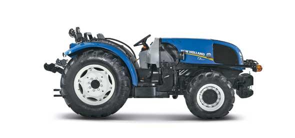 Tecnovino tractores para vinedos en hilera T3F New Holland 3