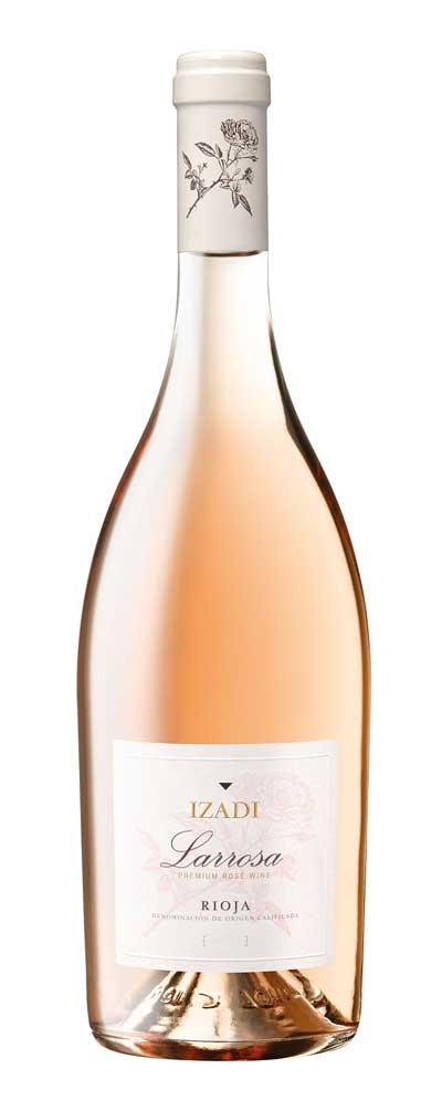 Tecnovino vino rosado Izadi Larrosa