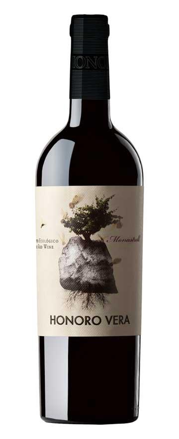 Tecnovino vino tinto ecologico Honoro Vera Organic
