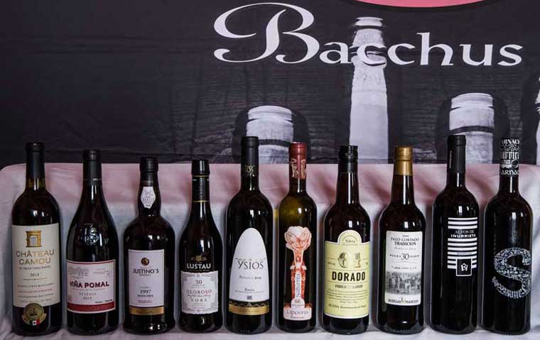 Tecnovino Concurso Internacional de Vinos Bacchus 2018 1