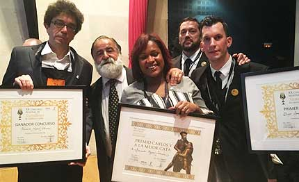 Tecnovino Fernando Mayoral Mejor Sumiller de Castilla y Leon