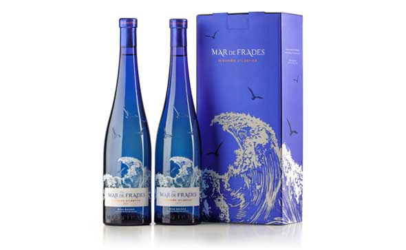 Tecnovino vino albarino Mar de Frades estuche