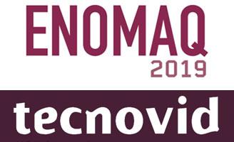 Tecnovino Enomaq y Tecnovid logos 2019