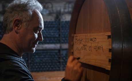 Tecnovino Ferran Adria Sapiens del Vino