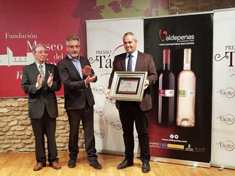 Tecnovino AEPEV mejores vinos y espirituosos de Espana Premios Tacito