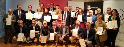 Tecnovino AEPEV mejores vinos y espirituosos de Espana ganadores