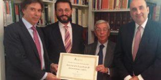 La Asociación Española de Enoturismo recibe el Premio Nacional de Enoturismo