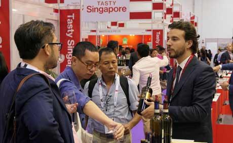 Tecnovino ProWine Asia feria de vino 1