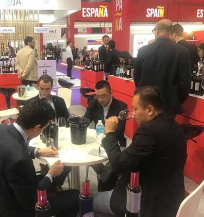 Tecnovino ProWine Asia feria de vino 4