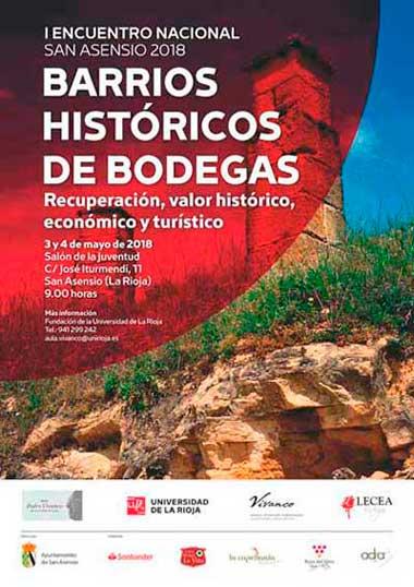 Tecnovino ferias sobre la actividad vitivinicola Encuentro Barrios Historicos de Bodegas