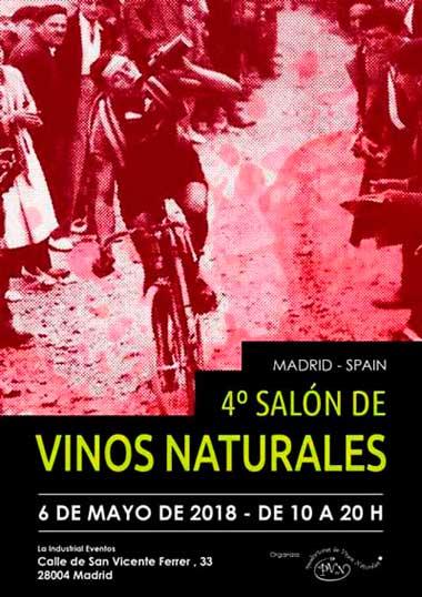 Tecnovino ferias sobre la actividad vitivinicola Salon de Vinos Naturales