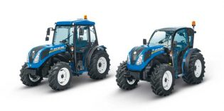 "T4FB ""Frutero Bajo"", los tractores de New Holland todoterreno"