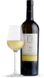 Tecnovino vinos de Jerez fino botella