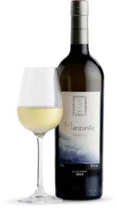 Tecnovino vinos de Jerez manzanilla botella