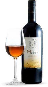 Tecnovino vinos de Jerez pale medium botella