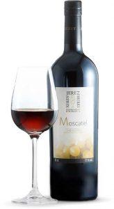Tecnovino vinos de Jerez moscatel botella