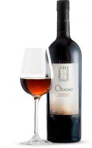Tecnovino vinos de Jerez oloroso botella